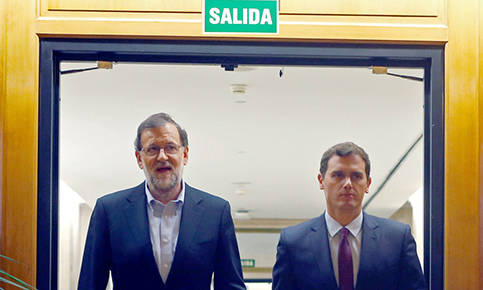 Foto de Ciudadanos denuncia falta de voluntad del PP y avisa de que el pacto puede fracasar